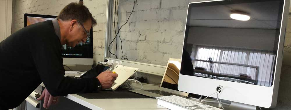 Apple Mac Repair being carried out by Mark